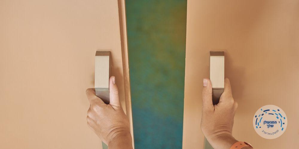 המנעולן שלך מנעול לדלת הזזה